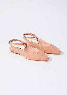 LOFT Ankle Strap Flats