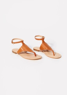 LOFT Ankle Strap Thong Sandals