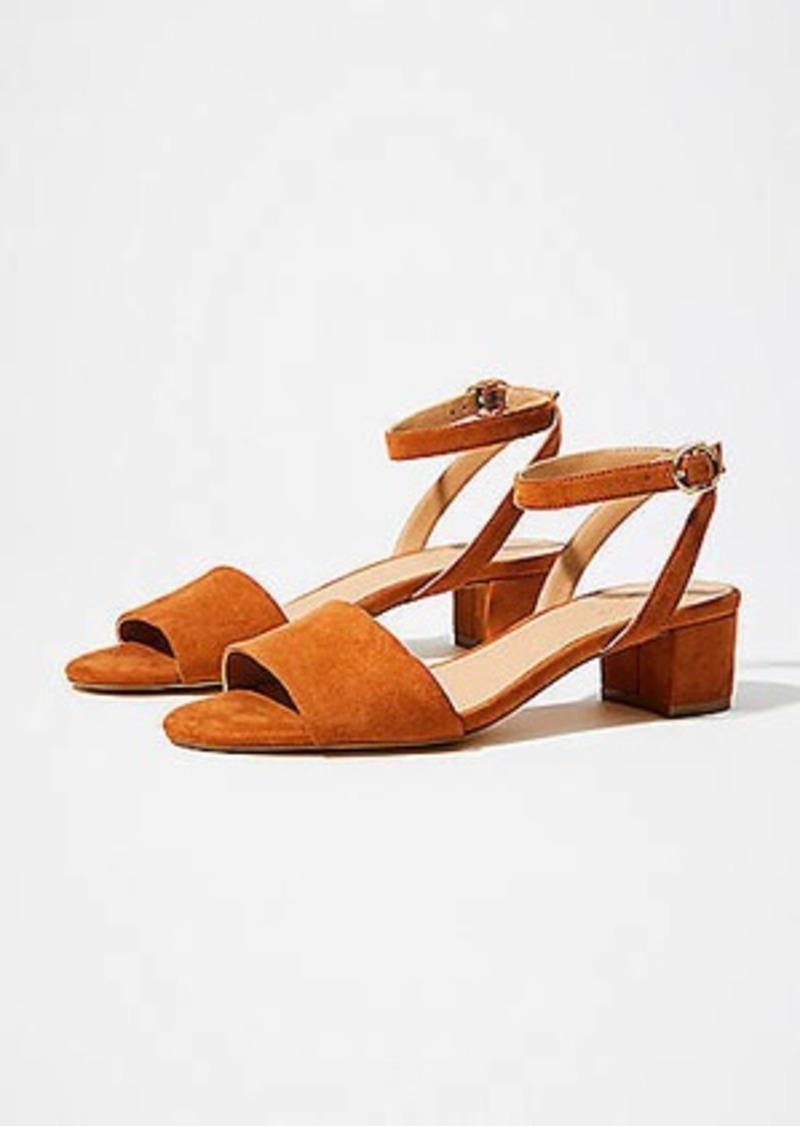 LOFT Ankle Strap Wedges