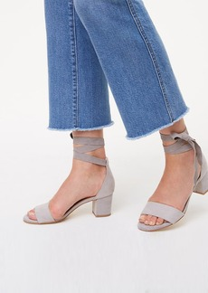 LOFT Ankle Wrap Block Heels