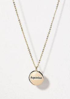 LOFT Aquarius Pendant Necklace