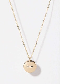 LOFT Aries Pendant Necklace