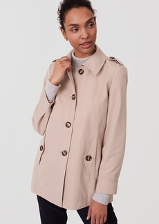 Back Pleat Trench