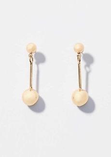 LOFT Ball Drop Earrings