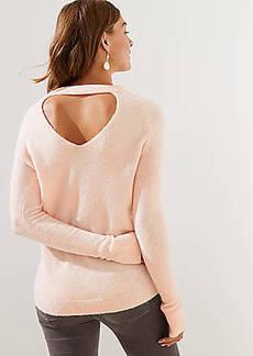 LOFT Bar Back Sweater
