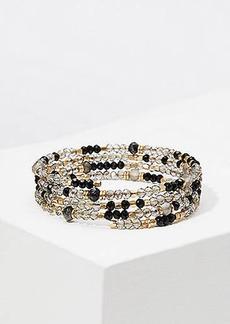 LOFT Beaded Coil Bracelet