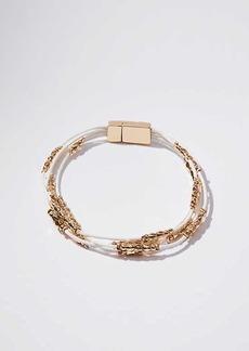 LOFT Beaded Multistrand Bracelet