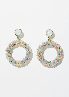 LOFT Beaded Ring Earrings