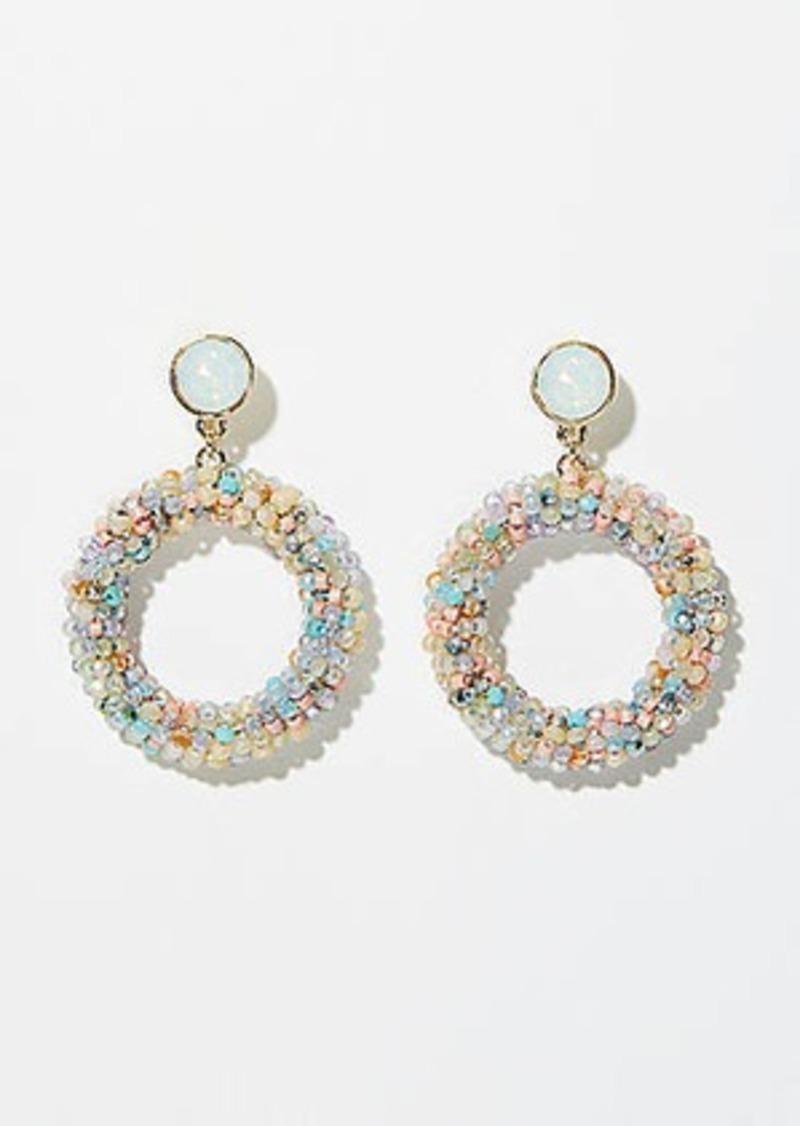 LOFT Beaded Ring Earrings