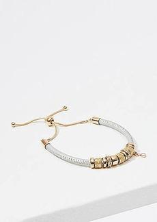 LOFT Beaded Slider Bracelet