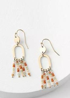 LOFT Beaded Statement Earrings