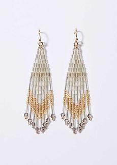 LOFT Beaded Chandelier Earrings