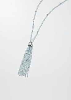 LOFT Beaded Tassel Pendant Necklace