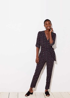 LOFT Bejeweled Jumpsuit