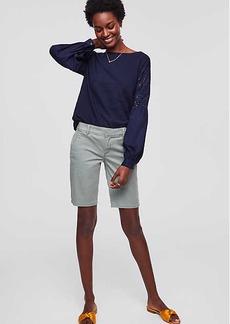 LOFT Bermuda Roll Shorts