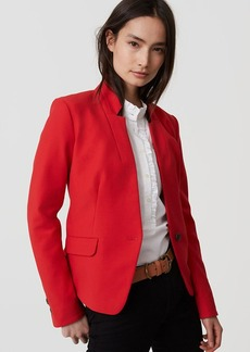 Bi-Stretch Notched Blazer