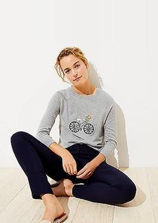 LOFT Bicycle Sweater