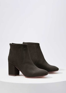 LOFT Block Heel Ankle Boots