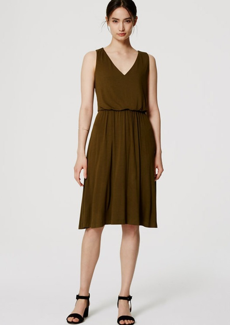 LOFT Blouson Dress