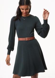 Blouson Flare Dress