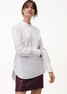 Blouson Henley Tunic Shirt
