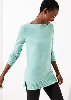 LOFT Boatneck Tunic Sweater