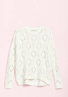 LOFT Bobble Drop Shoulder Sweater