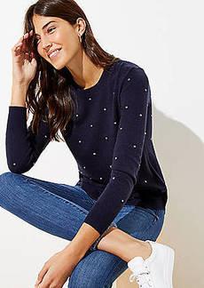 LOFT Bobble Shirttail Sweater