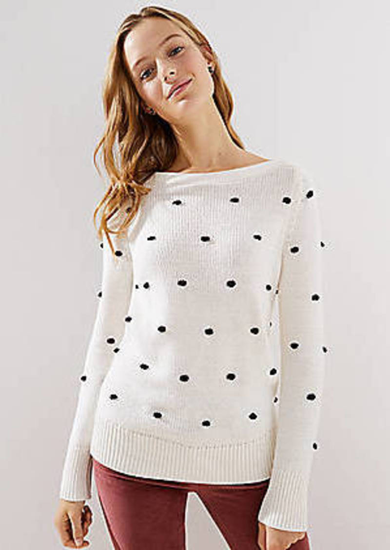 LOFT Bobble Stitch Sweater