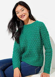 LOFT Bobble Sweater