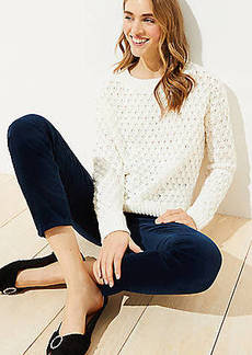 LOFT Bobble Sweater