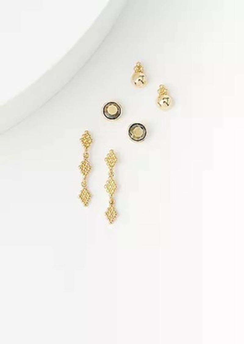 LOFT Boho Stud Earring Set