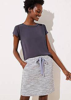 LOFT Boucle Jogger Skirt