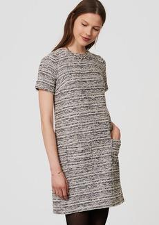 Boucle Pocket Dress