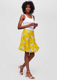 Bouquet Flounce Skirt