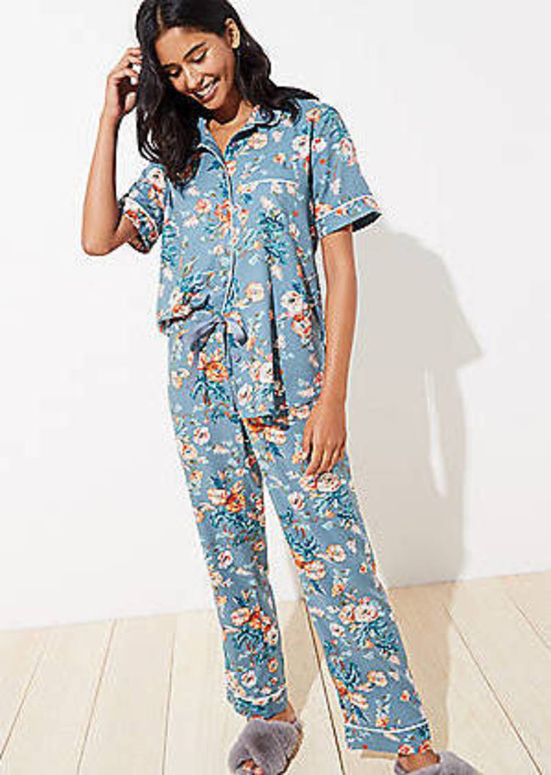 LOFT Bouquet Pajama Set