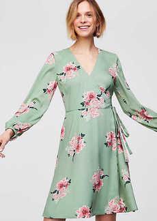 Bouquet Wrap Dress
