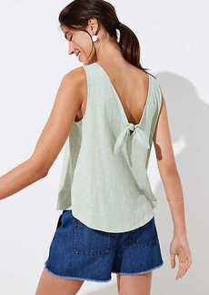 LOFT Bow Back Vintage Soft Tank