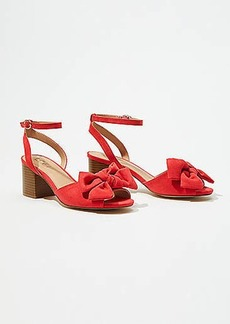 LOFT Bow High Heel Sandal