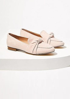 LOFT Bow Loafers