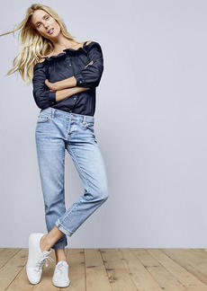 LOFT Boyfriend Jeans in Light Indigo Wash