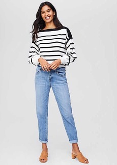 LOFT Boyfriend Jeans in Light Stonewash