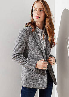 LOFT Brushed Knit Blazer