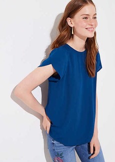 LOFT Button Back Top
