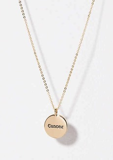 LOFT Cancer Pendant Necklace