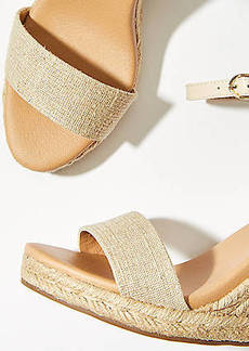 LOFT Canvas Espadrille Wedge
