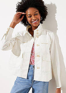 LOFT Canvas Utility Jacket