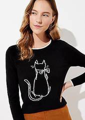 LOFT Luxe Knit Cat Sweater