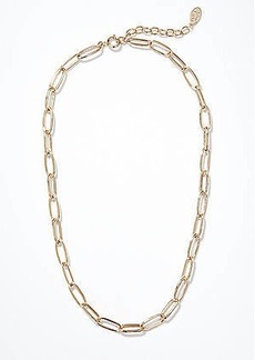 LOFT Chain Link Statement Necklace