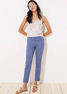 LOFT Chambray Riviera Pants